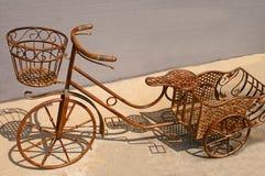 cykeljärn rostade wrought Royaltyfria Bilder
