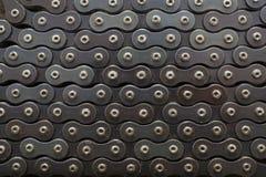Cykelkedja arkivfoto