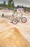cykelkonkurrens Arkivfoto