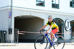 Cykelkonkurrens Royaltyfri Fotografi
