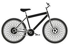 Cykelkontur Royaltyfria Foton