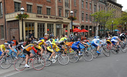 cykelkriteriumrace toronto Royaltyfria Foton
