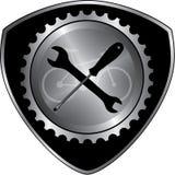 Cykelkugghjuldesign Fotografering för Bildbyråer