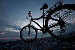cykellivstid arkivbild