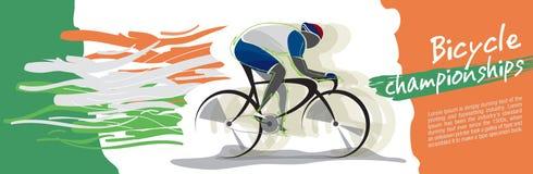 Cykelmästerskapvektor stock illustrationer