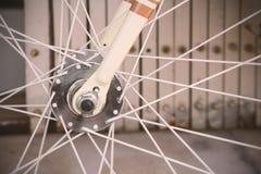 cykeln details hjulet Arkivfoto