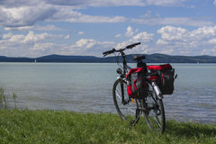 Cykeln turnerar på Royaltyfri Bild