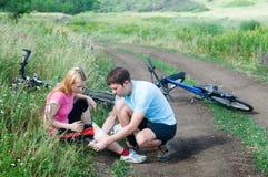 Cykelolycka Royaltyfri Bild