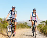 cykelpar royaltyfria bilder