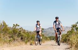 cykelpar royaltyfri fotografi