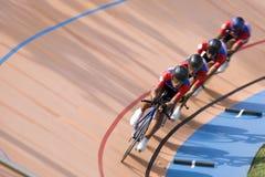 cykelrace Arkivfoto