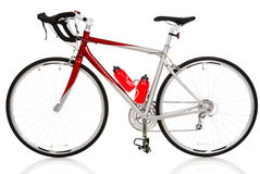 cykelraceväg arkivbild