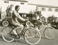 Cykelridninggyckel arkivfoto