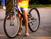 cykelritt Royaltyfri Fotografi