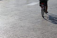 cykelritt Arkivbild