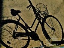Cykelskugga fotografering för bildbyråer
