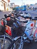 Cykelstation Royaltyfri Bild