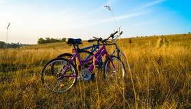 Cykelstilliv Fotografering för Bildbyråer