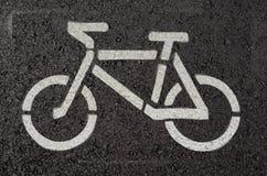 Cykelsymbol Arkivfoto