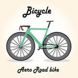 Cykelsymbolen eller undertecknar in att agera för tecknad film Arkivbild