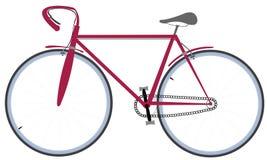 cykelteckning Arkivbilder