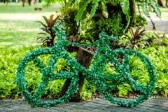 Cykelträdgård arkivfoto