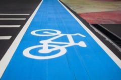 Cykeltrafiktecken Arkivbilder