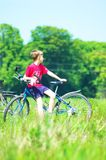 cykeltur Royaltyfri Bild