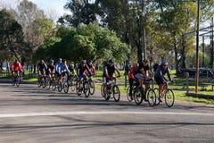 Cykelutbildning Fotografering för Bildbyråer