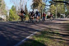 Cykelutbildning Royaltyfria Foton