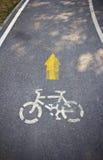 cykelväg Arkivfoton