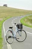 cykelväg Arkivfoto