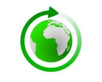 cykl globalny Obrazy Royalty Free
