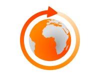 cykl globalny Zdjęcie Stock