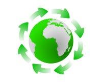cykl globalny Zdjęcia Royalty Free