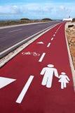 cykl trasa Zdjęcie Stock
