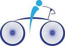 Cykla stock illustrationer
