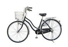 Cykla den svarta nuckan för begagnat från Japan, isolat på vit arkivbild