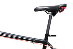 cykla det grunda cykla perspektiv för berg för händer för skogen för fokusen för cyklistdjupfältet Arkivbild