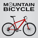 cykla det grunda cykla perspektiv för berg för händer för skogen för fokusen för cyklistdjupfältet Isolerat anmärka blå vektor fö stock illustrationer