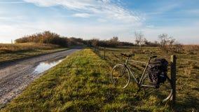cykla för firldbana Arkivfoton