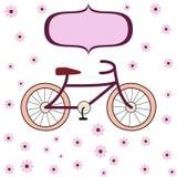 Cykla för flickor Arkivbilder