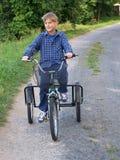 cykla först Fotografering för Bildbyråer