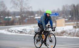 cykla hans manridning Royaltyfria Foton