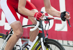 Cykla konkurrens Arkivbilder