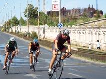 Cykla konkurrens i Bucharest Royaltyfri Bild