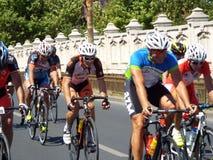 Cykla konkurrens i Bucharest Arkivbild