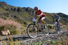 cykla konkurrensberg Royaltyfria Foton