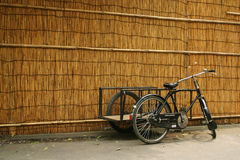 cykla leveransen Arkivbild