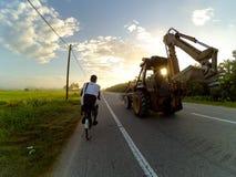 Cykla liv Arkivfoto